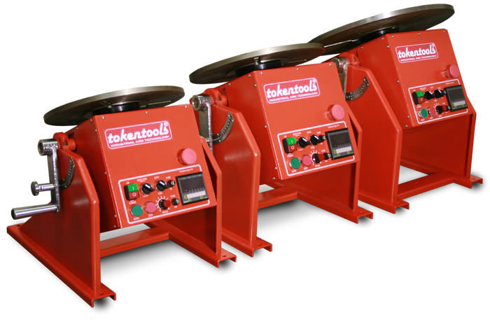 3 New Welding Positioners From Tokentools Pty Ltd
