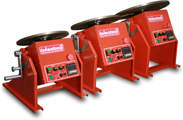 3 Welding Rotators From Tokentools Pty Ltd