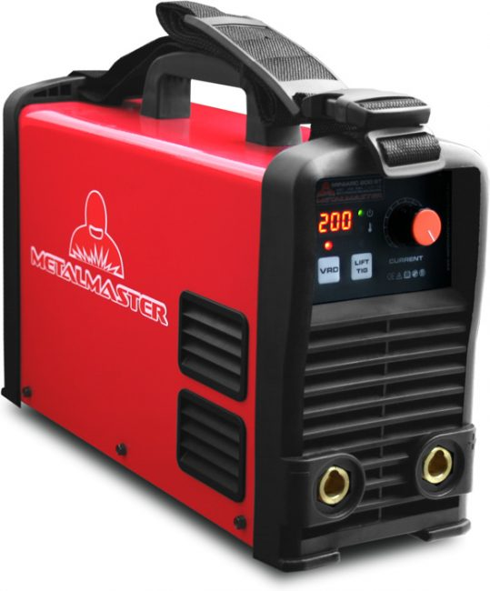 Inverter arc tig welder with vrd