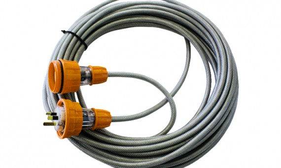 Mine Compliant Braided Extension Leads