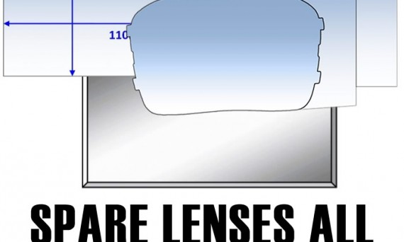 spare lenses for automatic welding helmets